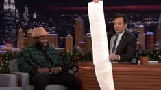 "Watch Black Thought Discuss His Legendary Hot 97 Freestyle on 'Fallon' Source: Twitter Black Thought: ""Fifteen minutes of fame ain't enough for me""  Black Thought has been the most talked about rapper the last 24 ho... http://drwong.live/music/black-thought-interview-fallon-html/"