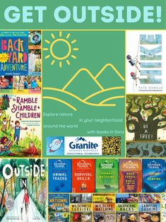 Survival Watch, Library Posters, Outdoor School, Fossil Watches, Get Outside, Book Lists, The Help, The Neighbourhood, National Parks