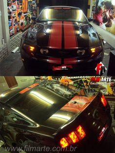 Customização do Mustang com faixas esportivas, na cor Vinho./ Estamos em novo endereço! / Rua Dona Matilde, 94 - Vila Matilde / Tel: 11 2651-0113 / #envelopamento #envelopamentozonaleste #envelopamentoautomotivo #mustang #shelby #mustangshelby #gm #chevrolet #customcars #adesivo #customização #carros #vilamatilde #011 #filmarte #wrap #pretofosco #fibradecarbono #saopaulo #sp #brazil #adesivagem #oracal
