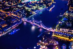 London From Above at Night – Fubiz™