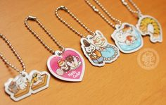 boutique kawaii shop france lille chezfee com gachapon capsule japonais authentique cat neko atsume charm strap4