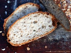 Chili und Ciabatta: World Bread Day '10: Bread with Rye Sourdough and Toasted Oatmeal