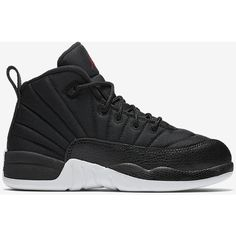 Air Jordan 12 Retro (10.5c-3y) Little Kids' Shoe. Nike.com ($80) ❤ liked on Polyvore featuring shoes