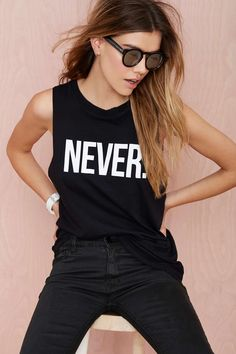 Nasty Gal x Petals and Peacocks Never Tank | Shop Clothes at Nasty Gal
