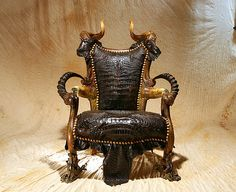 This is going in our living room!  Satan's Throne by The Waid,