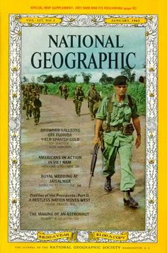 National Geographic January 1965 / National Geographic Photography / Covers