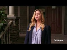 """Pretty Little Liars 7x05 """"Along Comes Mary"""" - Jenna returns to Rosewood and befriends another one of the Liars' enemies, making her the PLL's number one susp..."""