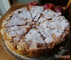 Almatorta 4 hozzávalóból, egyszerűen, gyorsan | TopReceptek.hu Apple Dessert Recipes, Cookie Desserts, Sweet Desserts, Fruit Recipes, Desert Recipes, Apple Recipes, Sweet Recipes, Cakes And More, Food And Drink
