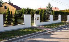 nowoczesne ogrodzenia betonowe - Szukaj w Google