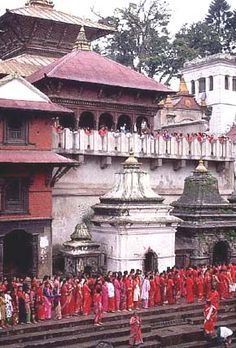 Pashupatinath Temple. One of the most sacred Hindu temples of Nepal, Pashupatinath Temple is located on both banks of Bagmati River on the eastern outskirts of Kathmandu. (V)