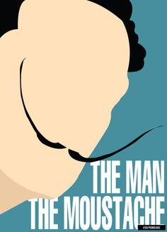 The Man. The Moustache