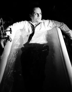 Andrew Scott. In a bath tub. Why you ask? because he's Andrew FREAKING Scott. That's why.