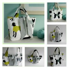 Looking for your next project? You're going to love Reversible Tied Tote Bag by designer Lillyblossom.