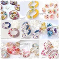 Diy Resin Earrings, Jewelry Design Earrings, Resin Jewelry, Designer Earrings, Diy Jewelry, Uv Resin, Resin Art, Diy Resin Lamp, Photography Accessories