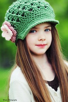 Love MY hat like this! Available in lots of colors and sizes :) kid-s-corner