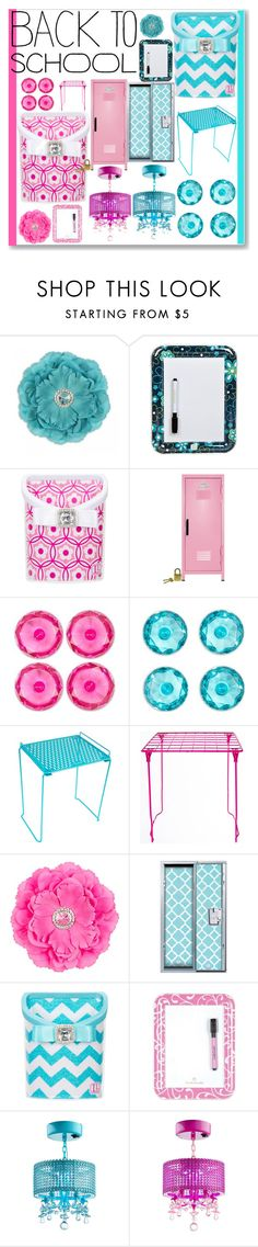 """Locker Decor"" by littledesigns ❤ liked on Polyvore featuring interior, interiors, interior design, home, home decor, interior decorating, BackToSchool and lockerdecor"