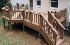 Build Wood Deck Railing Plans DIY Modern House Plans Balsa Wood