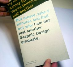 NOT just another design graduate!