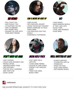 """And let's not forget when they just GOT these characters. 
