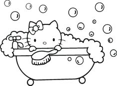 Does your child like Hello Kitty? Today we post various types of work called Hello Kitty Coloring Pages. Hello Kitty Colouring Pages, Coloring Pages For Girls, Cute Coloring Pages, Christmas Coloring Pages, Animal Coloring Pages, Coloring For Kids, Coloring Books, Free Coloring, Hello Kitty Drawing