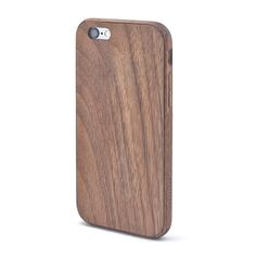 Handcrafted In Portland Or Grovemade S Walnut Iphone Case Features A Frame Of Hand Oiled