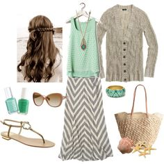 Tropical Vacation, created by heather-rolin on Polyvore