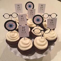 Optometrist Cupcakes