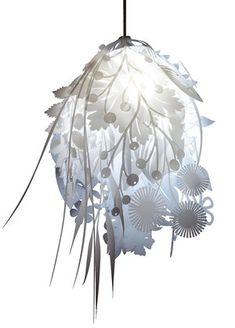 Lighting — Artecnica Paper Flower Decor, Flower Decorations, Paper Flowers, Diy Icicle Ornaments, Sculpture Lessons, Sculpture Techniques, Making A Bouquet, Creation Deco, Flower Lights
