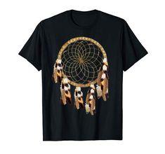 Pelican-Hawk Feather-Dream-catcher T-Shirt Nadine May