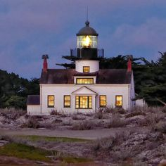 Point Pino Lighthouse, Pacific Grove, CA.