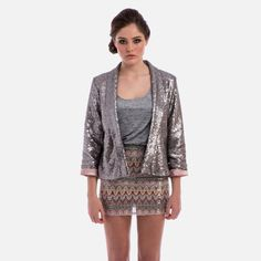 Metallic Matters - Saturday Night Sequin Jacket