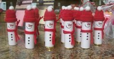 I love all the cute ideas there are for holiday crafting!  I just wish I had time to try all of them.  Here are three that I recently did.  ...