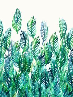 Jungle Rising Art Print by Micklyn | Society6