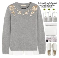 """""""Untitled #1338"""" by chantellehofland ❤ liked on Polyvore featuring Elie Saab, Vanessa Bruno, Gap and Spécimen Editions"""