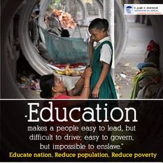 #Education power