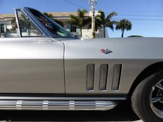 1966 Corvette Stingray Convertible - read the full story behind it at VintageScores.com...
