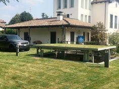 Sehr cool! Ein Autoaufzug, der Ihr Auto im Boden verschwinden lässt. Foto: Idealpark