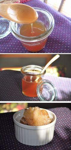 蜂蜜で濃縮ジンジャーシロップ(生姜湯)