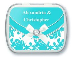 Personalized Mint Tins - Wedding Party Favors