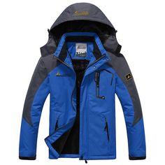 New Winter Jacket Men Thick Velvet Warm Coat Thermal Warm Windproof Hood Jackets Mens Outwear Parka Homme Jaqueta Casual Coats