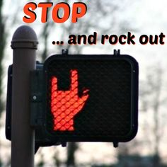 stop #rock out