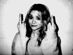 thank you mary kate olsen for describing exactly how I feel when people stare at me for no reason
