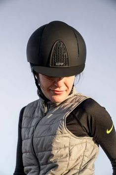 Riding Helmets, Blue Fabric, Hard Hats