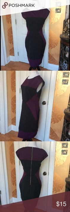 Maggy London Dress Maggy London dress. Gently worn. The seam on one small area is gone, but it is still held in place by the actual seams underneath. It still holds in place and doesn't run. Maggy London Dresses Midi