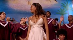 Still from The Get Down (Part Ep on Netflix The Get Down, Learn To Fly, Netflix Originals, Elegant Dresses, 2 In, Entertainment, Prom, Concert, Movies