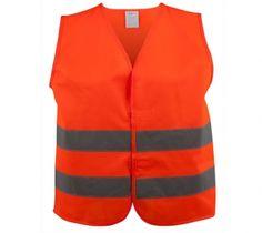 Sicherheitsweste Größe XS für Kinder 3-6 Jahre Orange EN 471/2