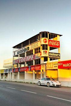Circuit de Gueux - pit lane