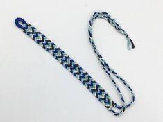 Aqua Blue Unisex Macrame Bracelet Woven Friendship Bracelet Anklet Designs, Presentation Cards, Macrame Bracelets, Bracelet Patterns, Anklets, Aqua Blue, Keychains, Hippie Boho, Friendship