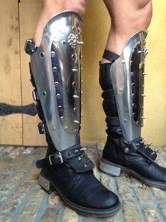 roman armor - alluminium chaps