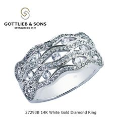 White Gold Diamonds, Round Diamonds, Right Hand Rings, Sons, Channel, Number, Jewellery, Detail, Pattern
